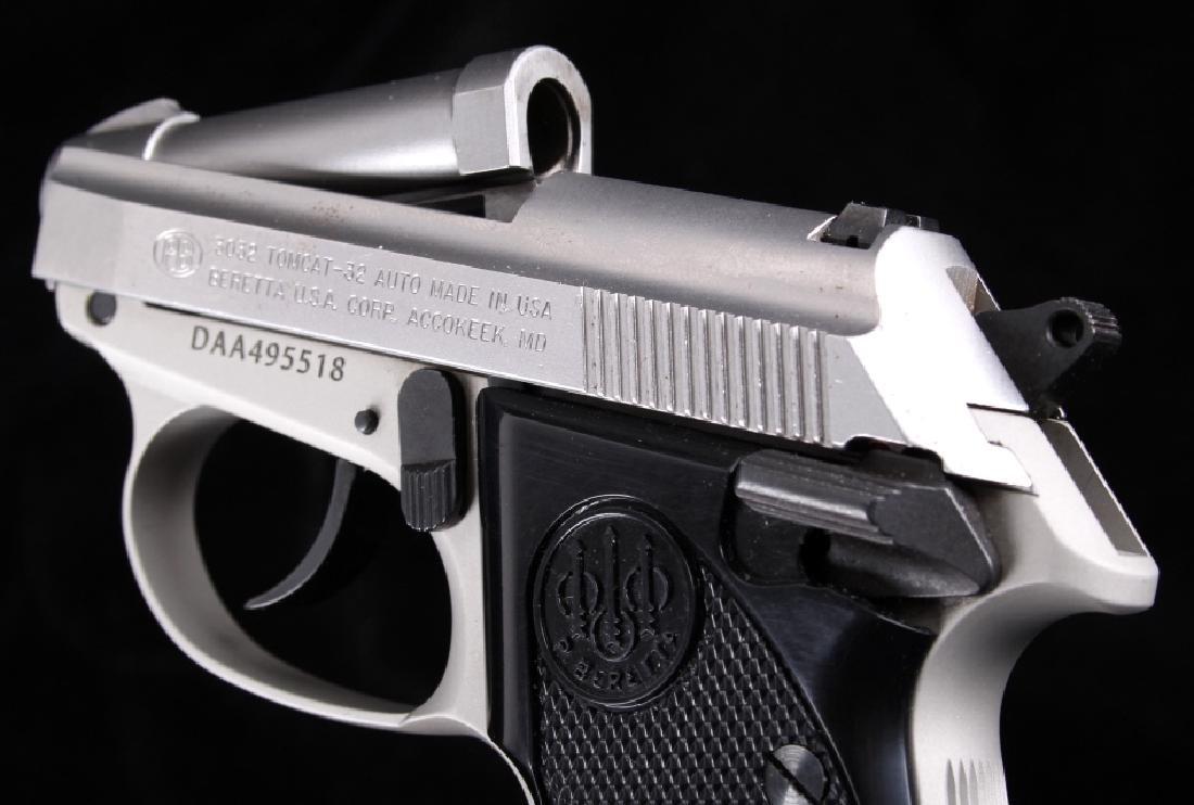 Beretta 3032 Tomcat Tip Up .32ACP Stainless Pistol - 12