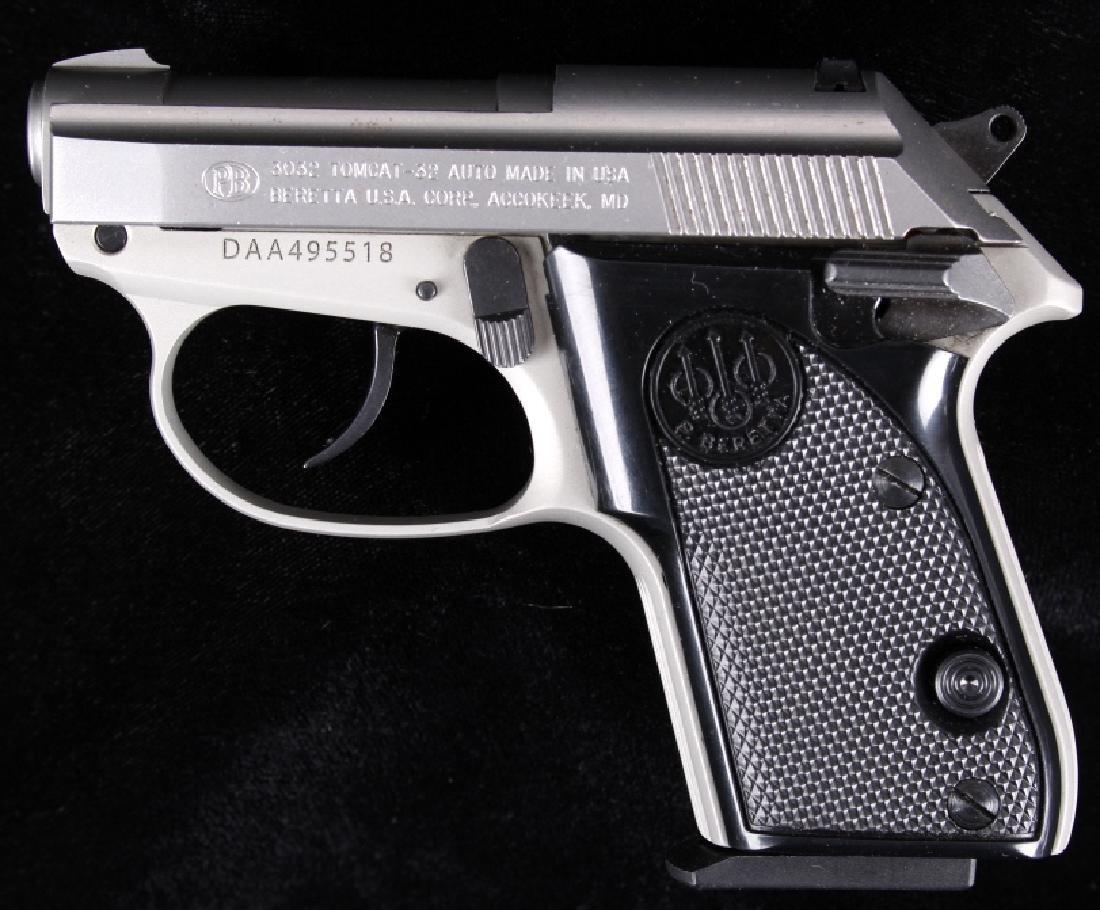 Beretta 3032 Tomcat Tip Up .32ACP Stainless Pistol