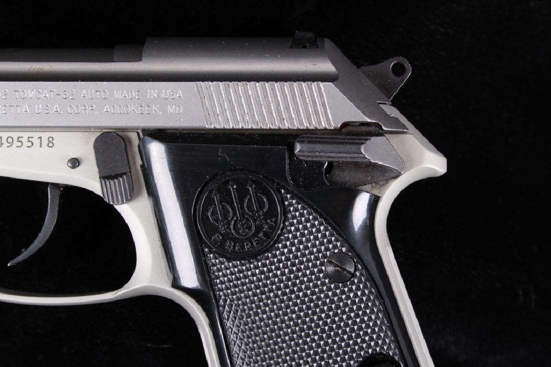 Beretta 3032 Tomcat Tip Up .32ACP Stainless Pistol - 3