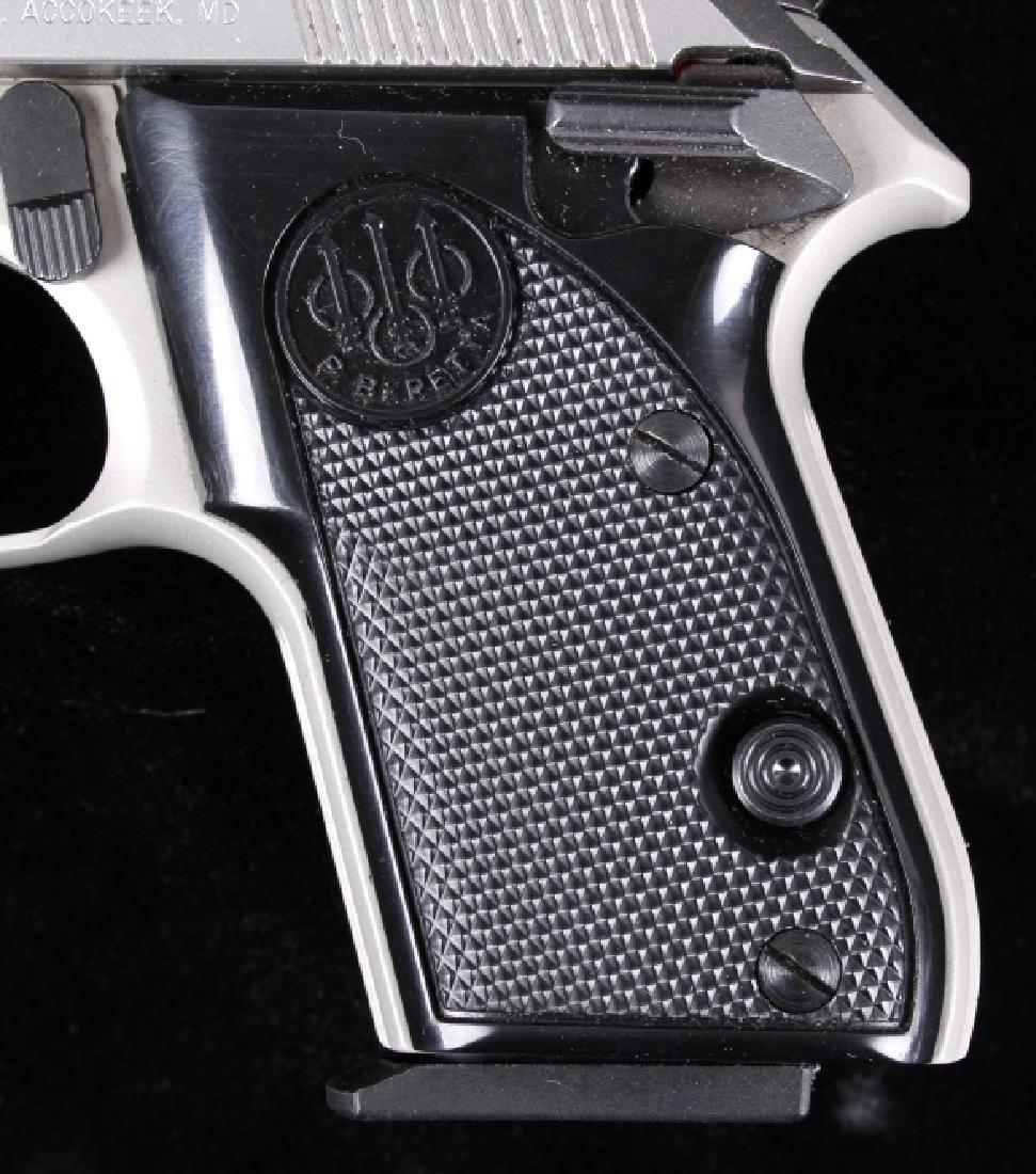 Beretta 3032 Tomcat Tip Up .32ACP Stainless Pistol - 4