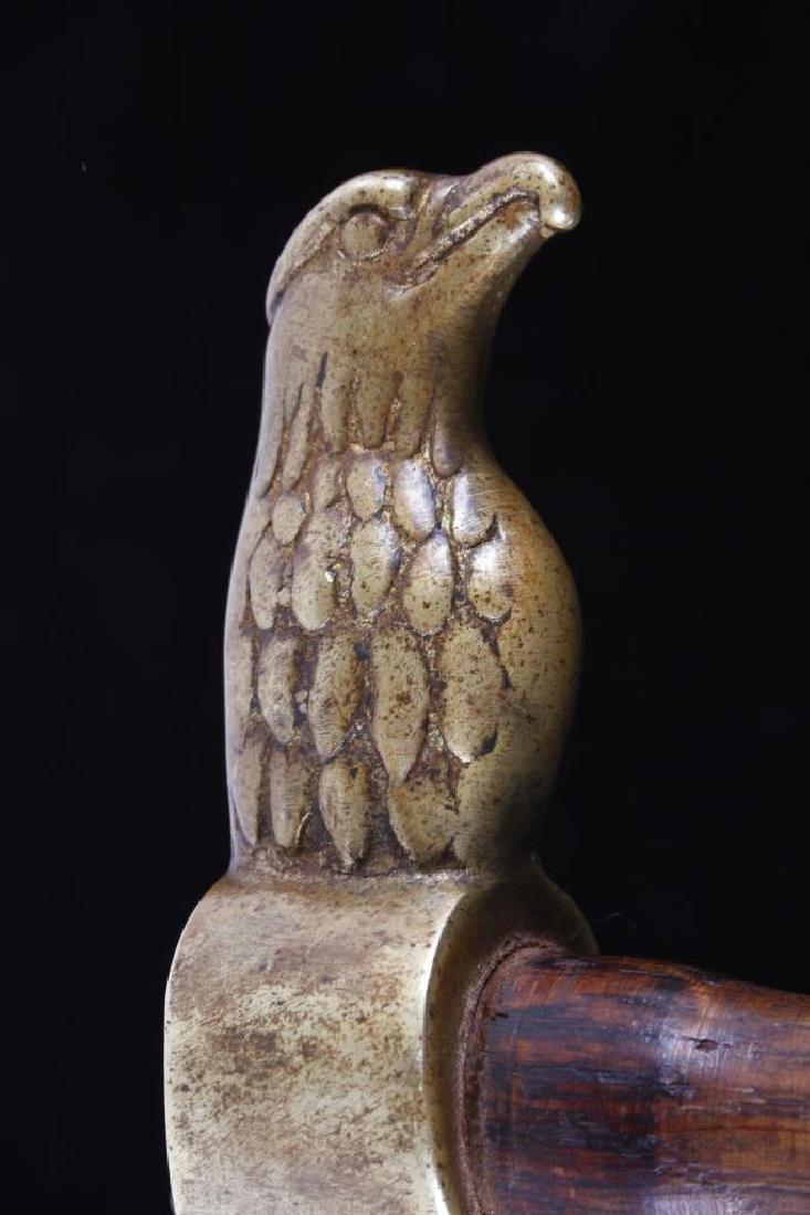 Plains Eagle Head Hammer Poll Tomahawk 19th- - 4