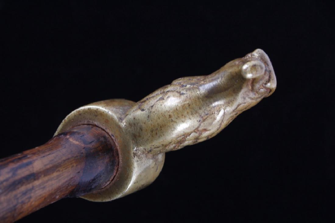 Plains Eagle Head Hammer Poll Tomahawk 19th- - 5