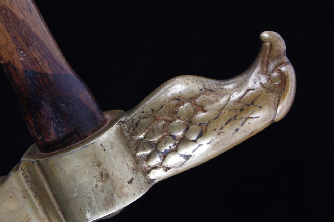 Plains Eagle Head Hammer Poll Tomahawk 19th- - 6