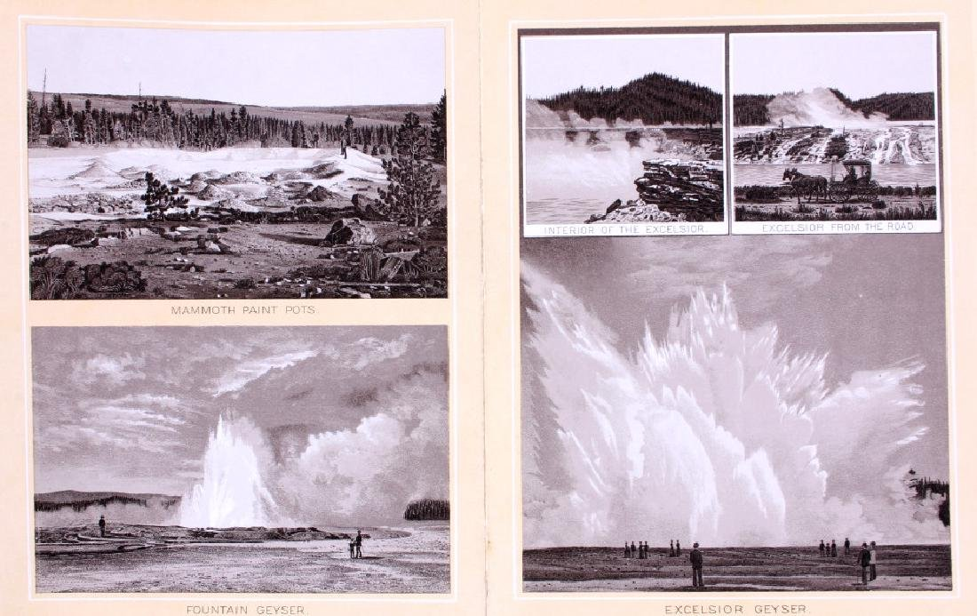 1889 Haynes Yellowstone National Park Album - 10