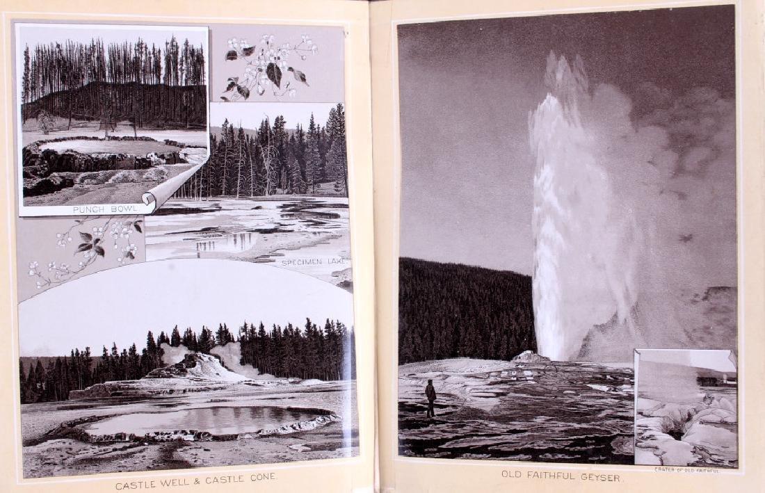 1889 Haynes Yellowstone National Park Album - 11