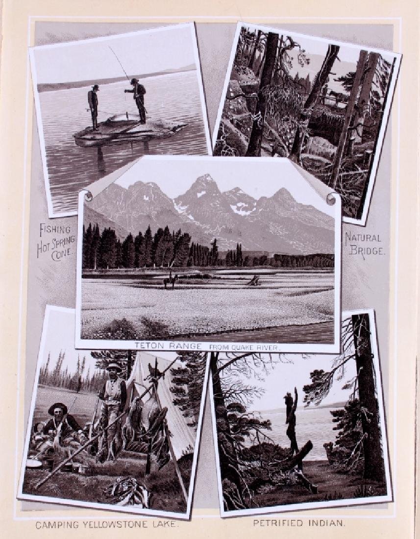 1889 Haynes Yellowstone National Park Album - 12