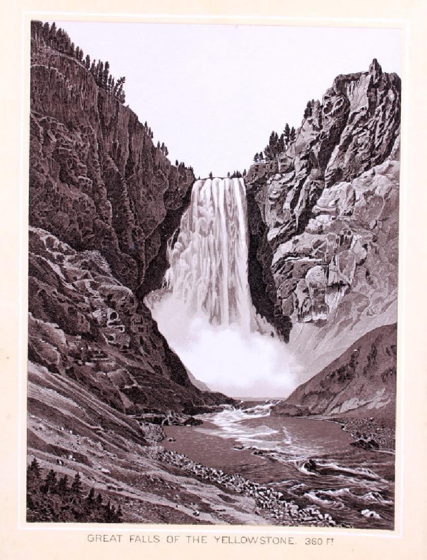 1889 Haynes Yellowstone National Park Album - 13