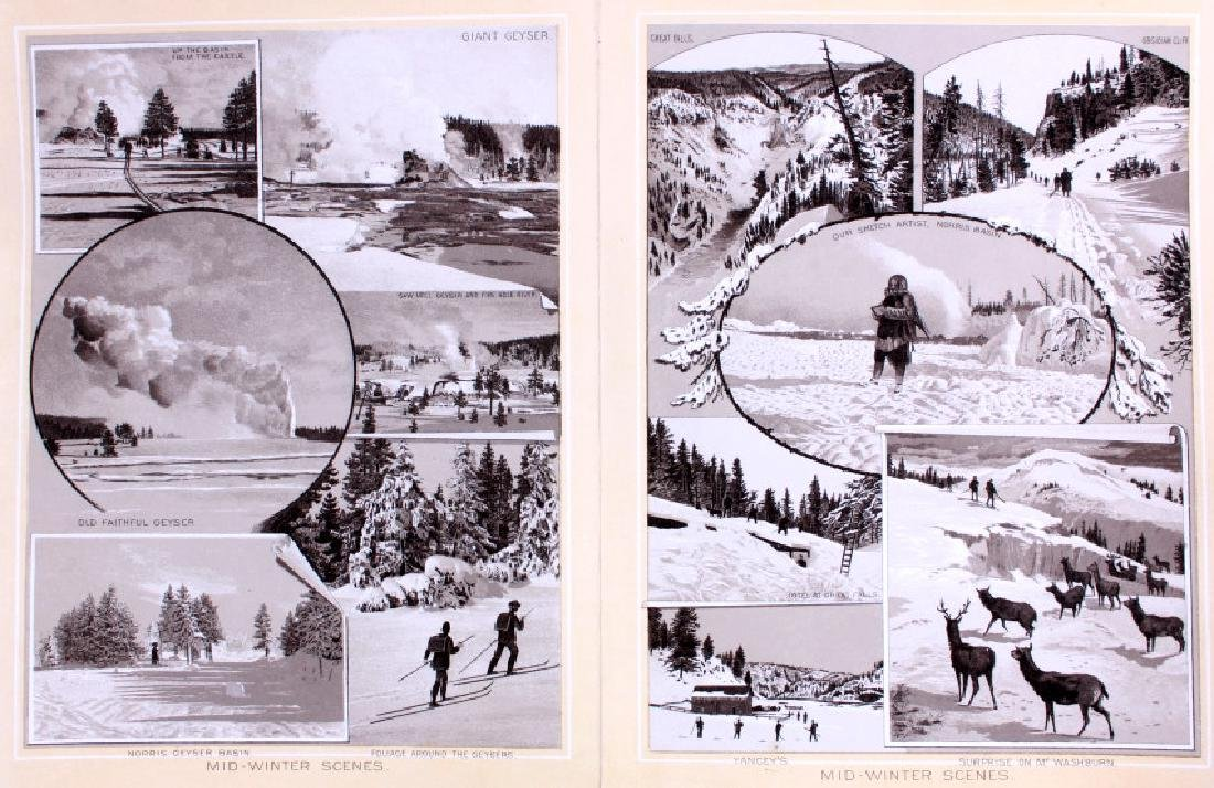 1889 Haynes Yellowstone National Park Album - 14