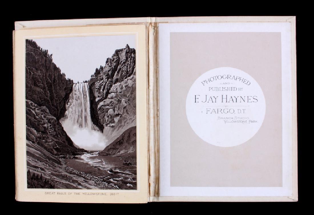 1889 Haynes Yellowstone National Park Album - 15