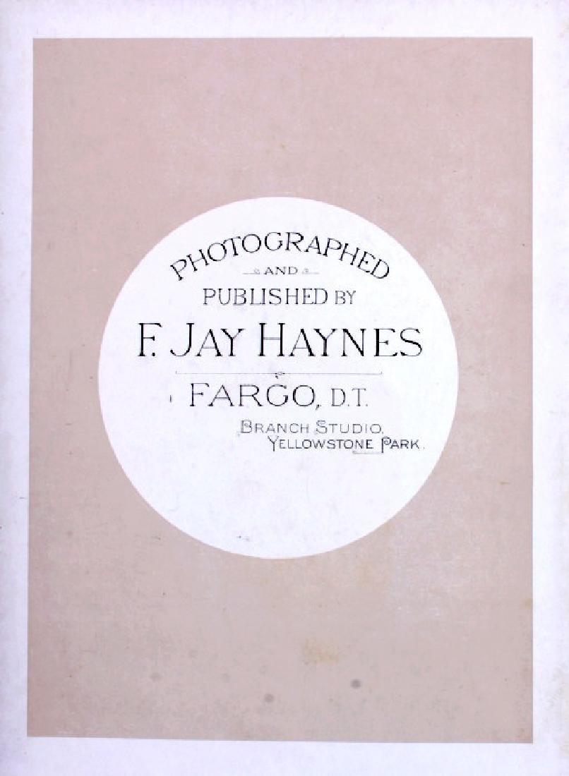 1889 Haynes Yellowstone National Park Album - 16