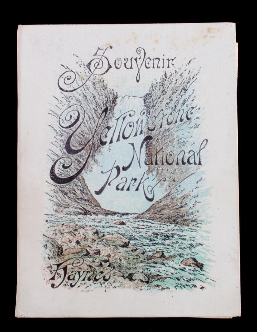 1889 Haynes Yellowstone National Park Album - 2