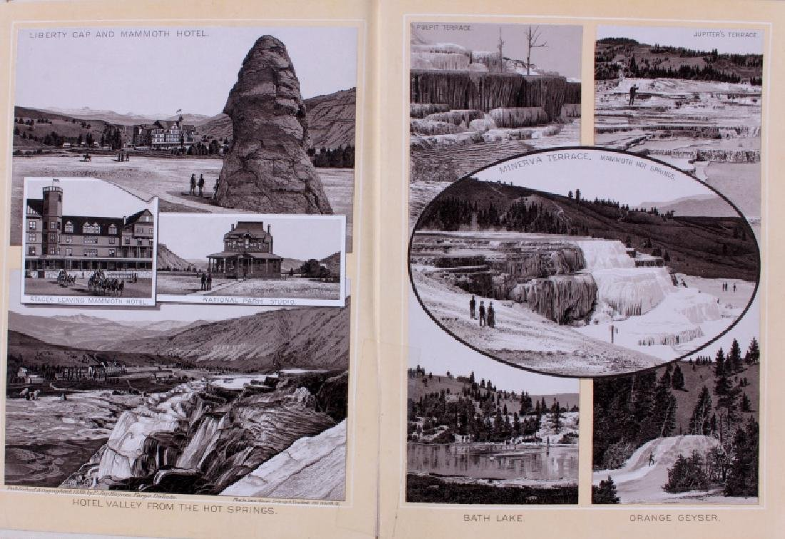 1889 Haynes Yellowstone National Park Album - 3
