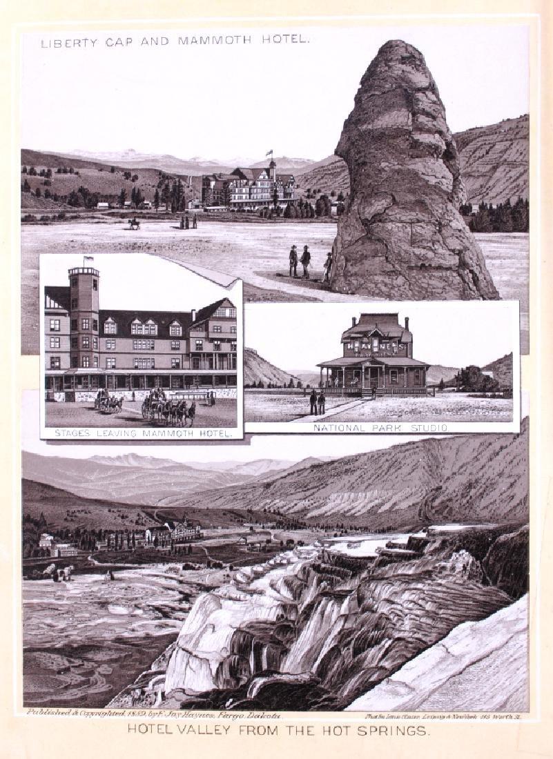 1889 Haynes Yellowstone National Park Album - 4
