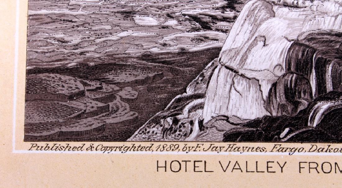 1889 Haynes Yellowstone National Park Album - 5