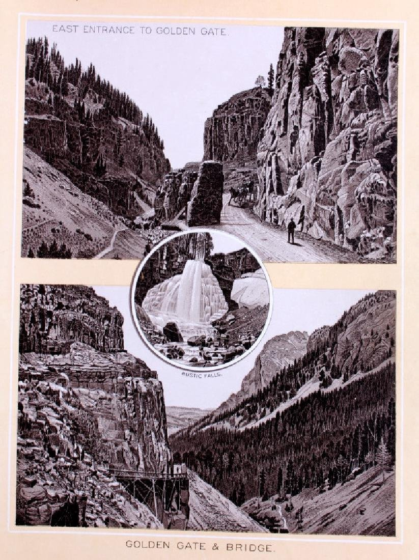 1889 Haynes Yellowstone National Park Album - 6