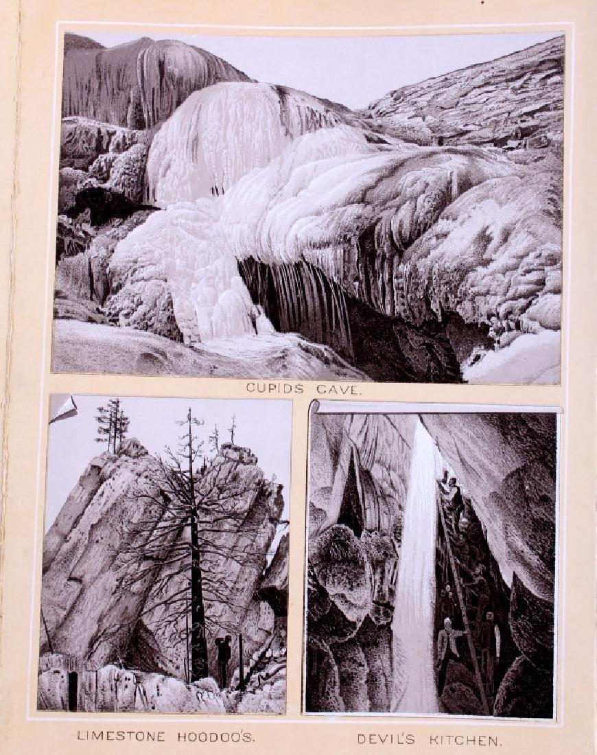 1889 Haynes Yellowstone National Park Album - 7