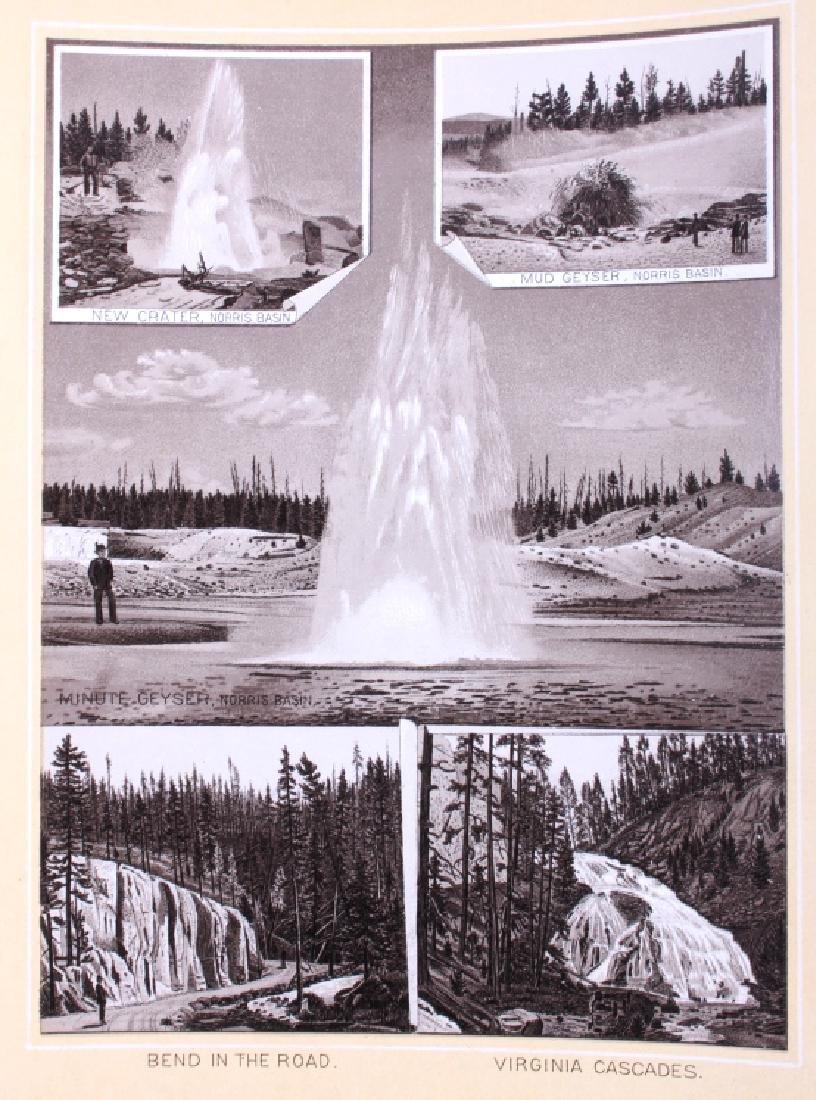 1889 Haynes Yellowstone National Park Album - 8