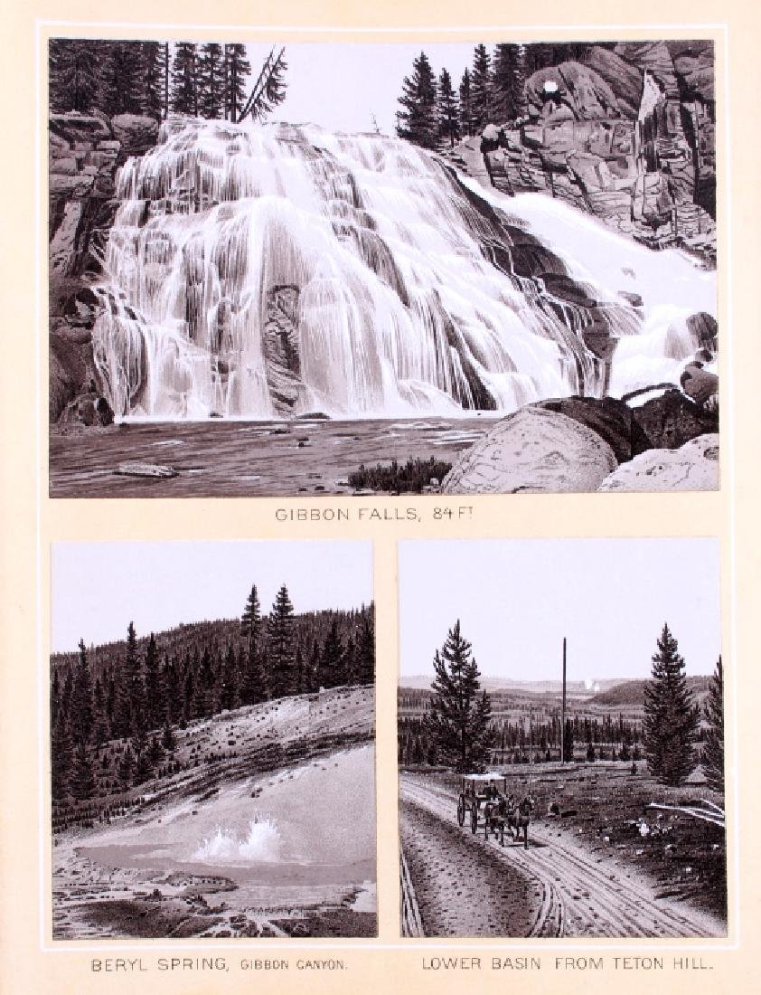 1889 Haynes Yellowstone National Park Album - 9