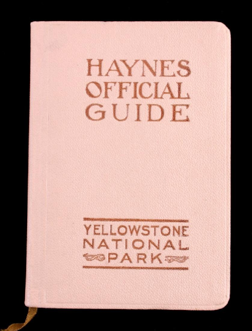 1915 Haynes Guide to Yellowstone National Park - 2