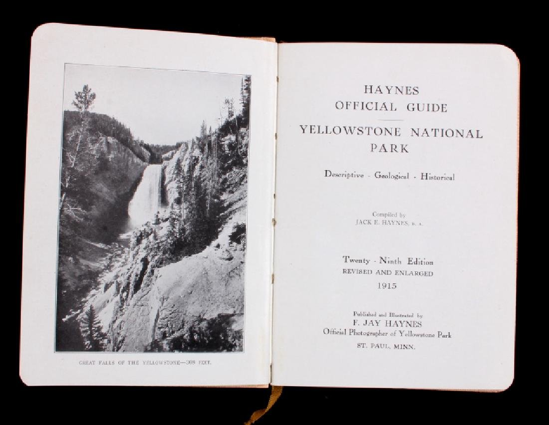 1915 Haynes Guide to Yellowstone National Park - 3