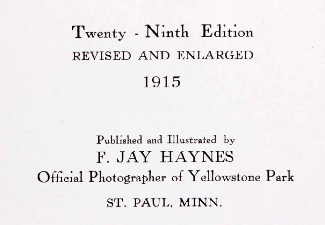 1915 Haynes Guide to Yellowstone National Park - 4
