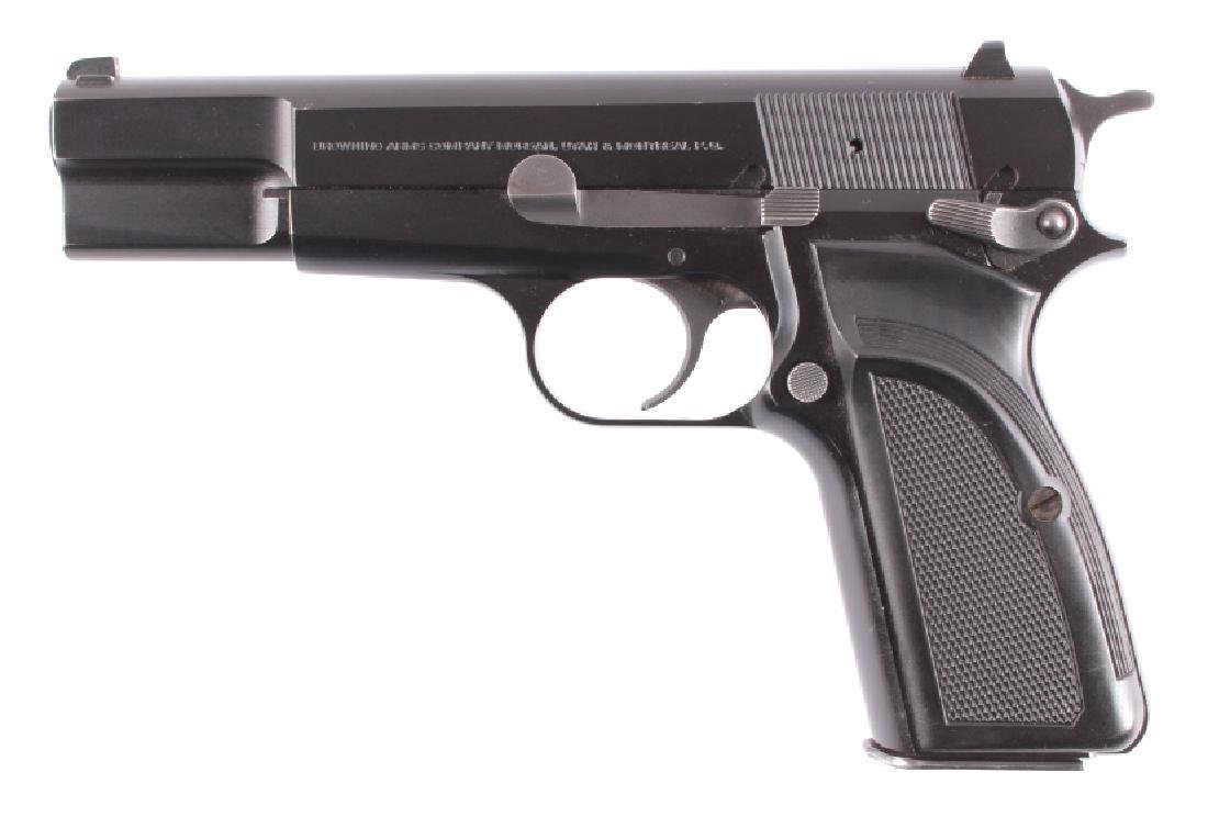 Browning Hi Power 9mm Luger Semi-Automatic Pistol