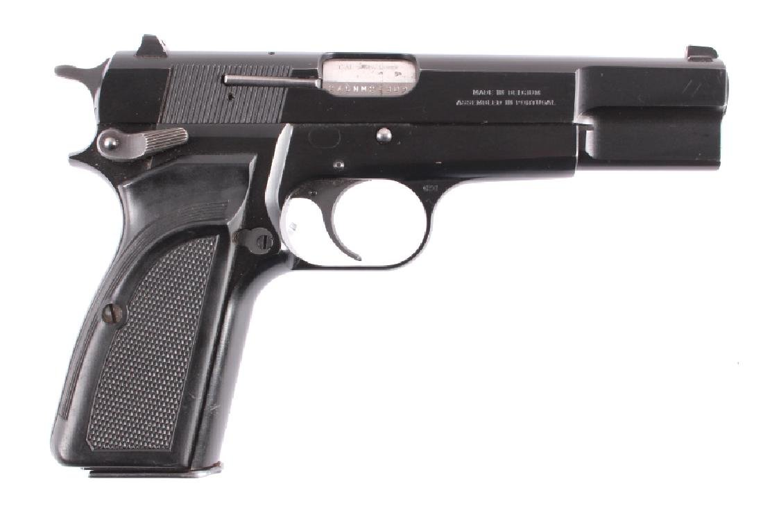 Browning Hi Power 9mm Luger Semi-Automatic Pistol - 2