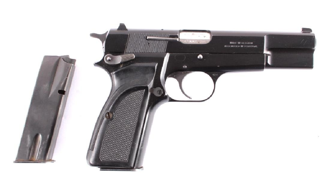 Browning Hi Power 9mm Luger Semi-Automatic Pistol - 3