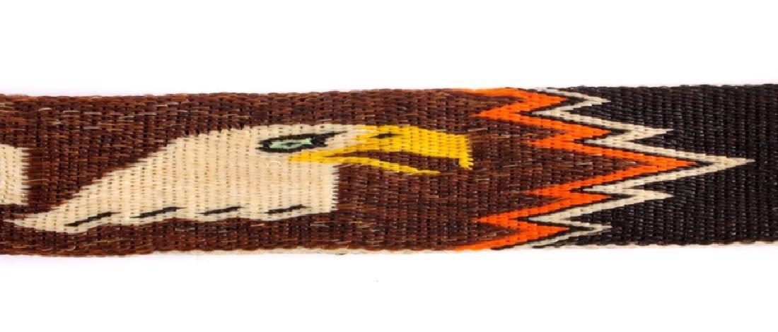 Deer Lodge Prison Horsehair Harley Davidson Belt - 5