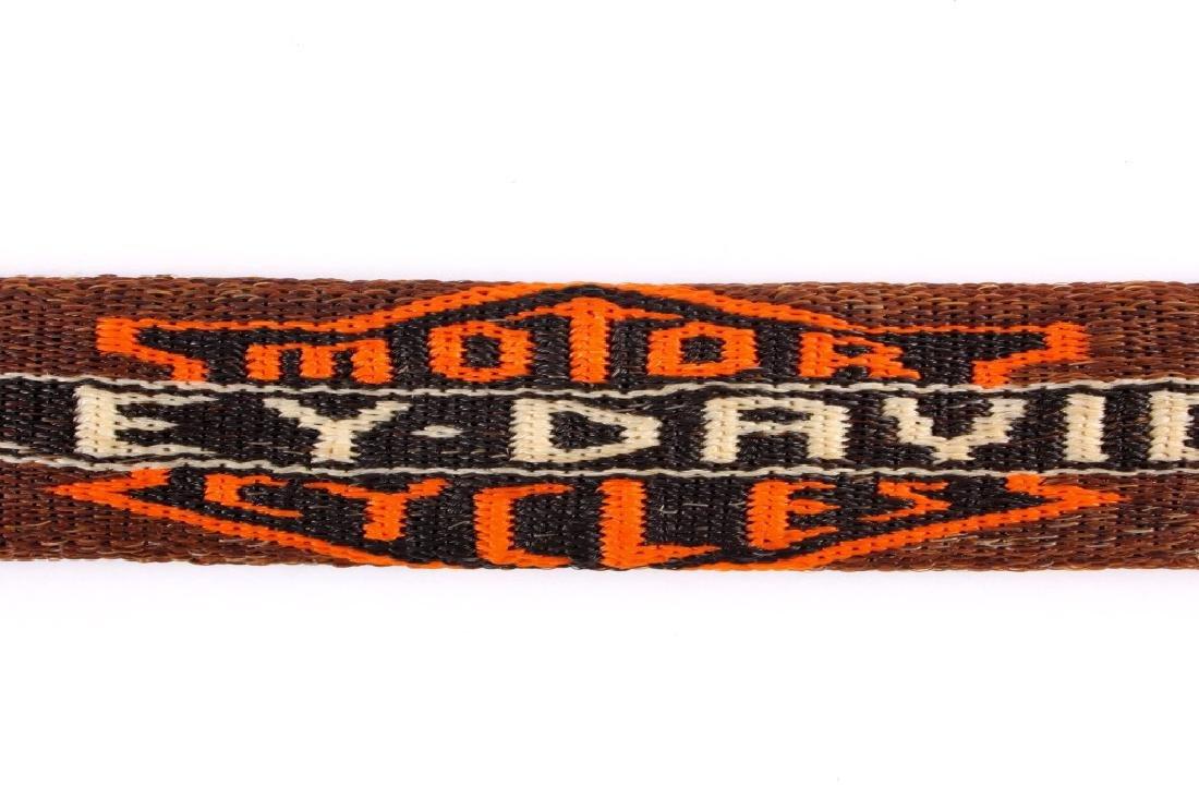 Deer Lodge Prison Horsehair Harley Davidson Belt - 8