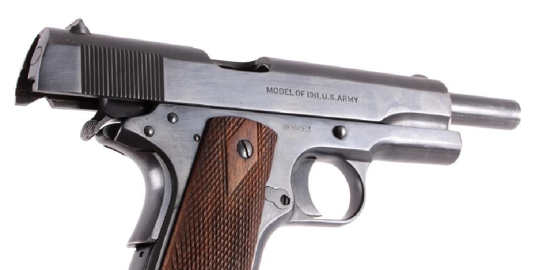 WWI Colt Model 1911 .45 ACP Pistol - 17