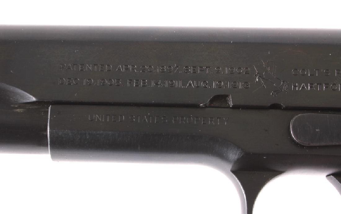 WWI Colt Model 1911 .45 ACP Pistol - 7