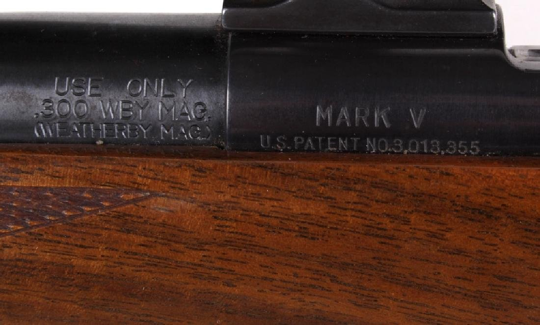 Weatherby Mark V .300 WBY Magnum Rifle & Scope - 12