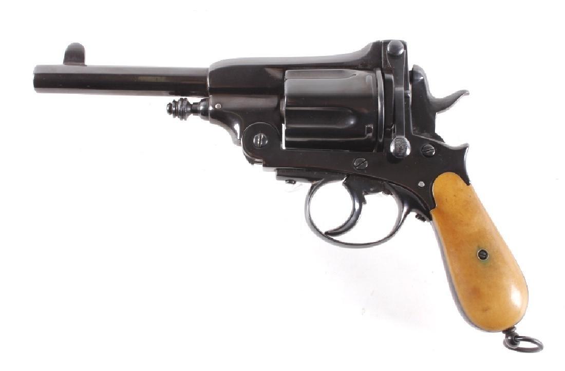 Montenegrin Gasser 44-40 WIN Caliber Revolver RARE