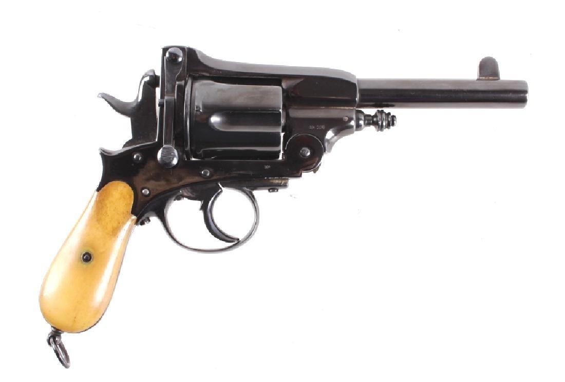 Montenegrin Gasser 44-40 WIN Caliber Revolver RARE - 2