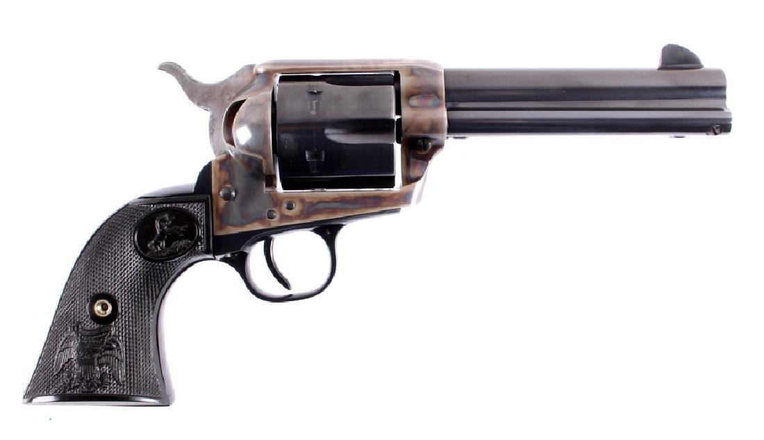 "Colt 2nd Gen. Single Action Army 45 Revolver 4.75"" - 2"