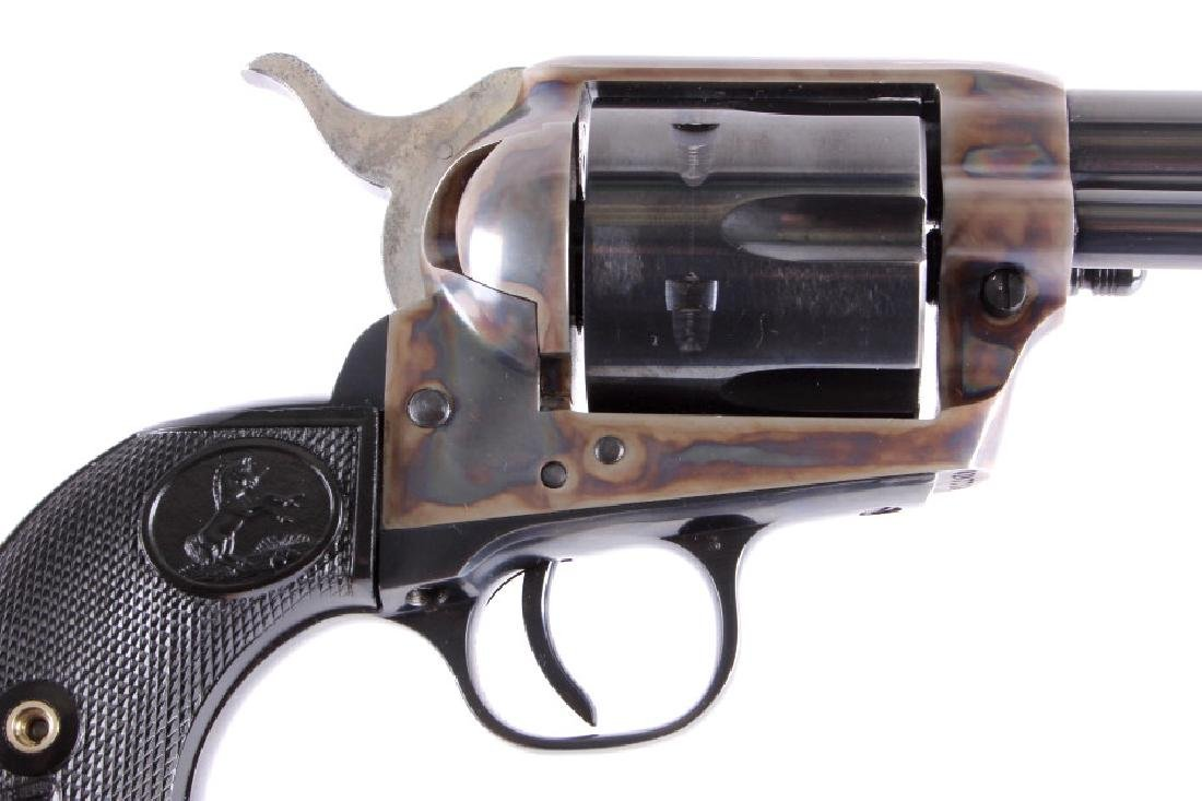 "Colt 2nd Gen. Single Action Army 45 Revolver 4.75"" - 6"