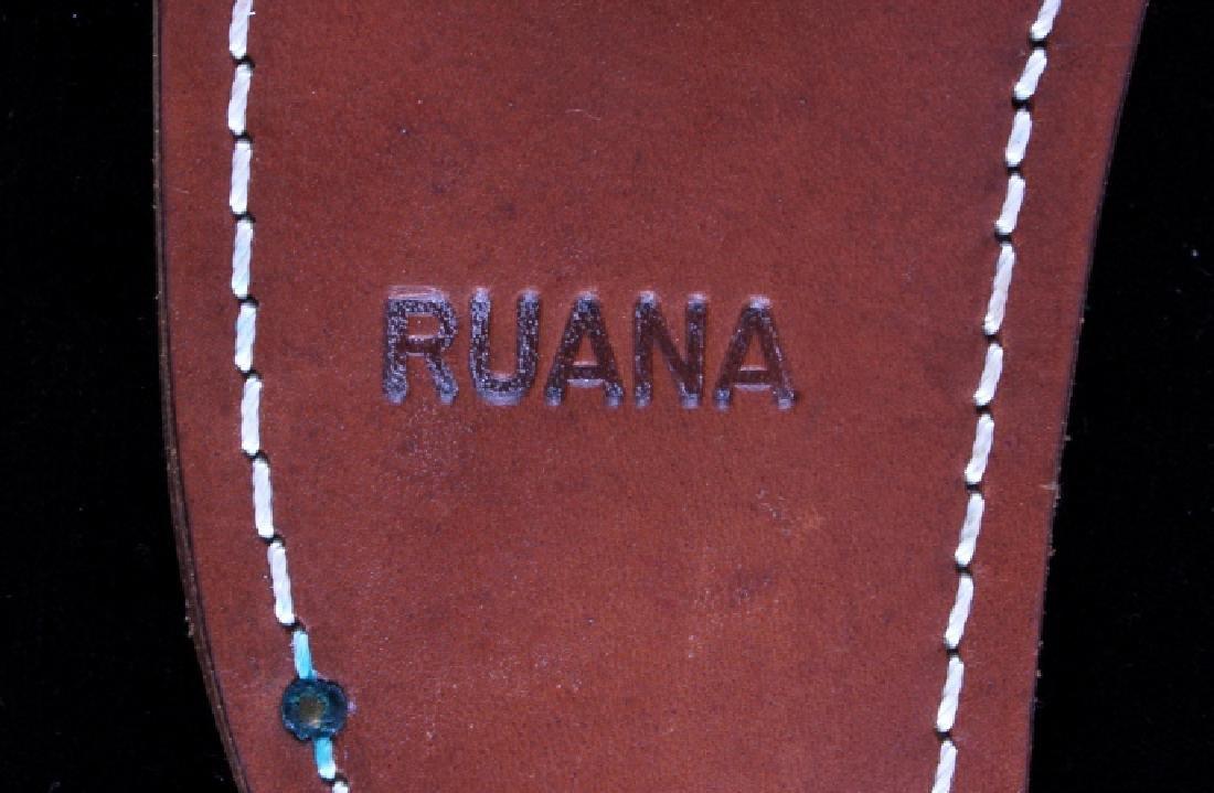 Ruana Bowie Knife & Scabbard Bonner Montana - 14