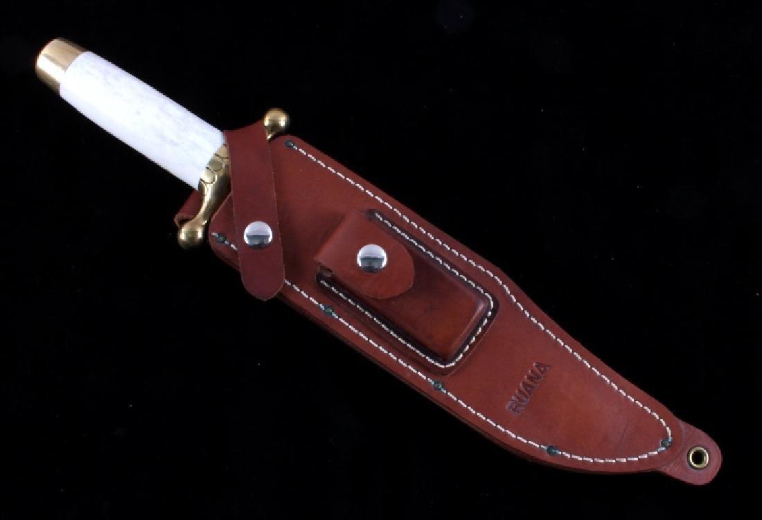 Ruana Bowie Knife & Scabbard Bonner Montana - 16