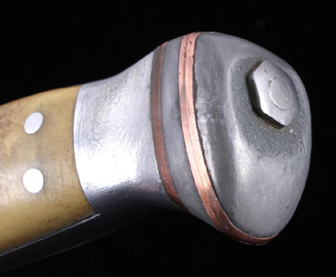 RARE Custom R.H. Ruana Knife Bonner Montana - 10