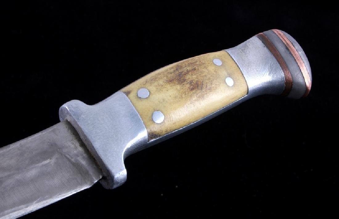 RARE Custom R.H. Ruana Knife Bonner Montana - 4