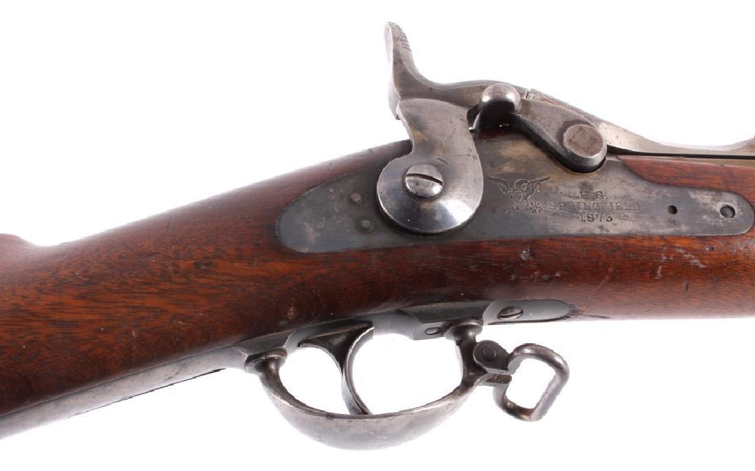 U.S. Springfield Model 1873 .45-70 Trapdoor Rifle - 12
