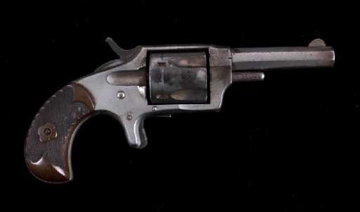 Hopkins Allen Gwtr 32 Revolver Mountain Eagle