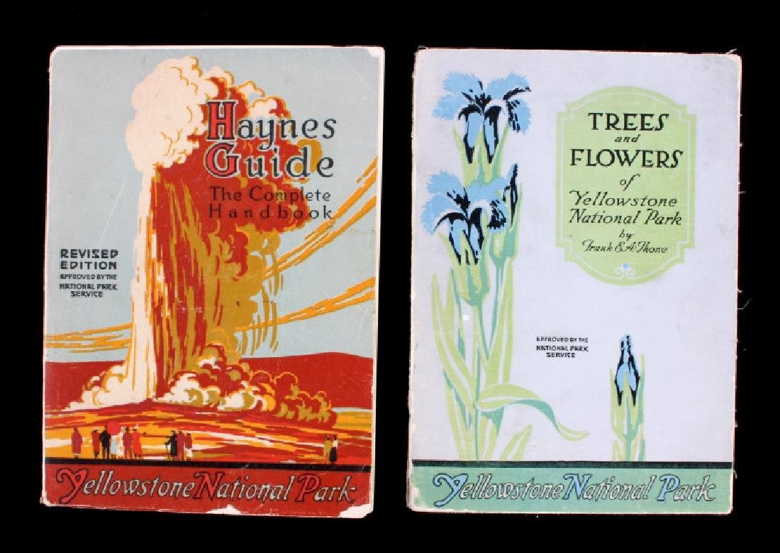 Yellowstone National Park Guidebook Collection