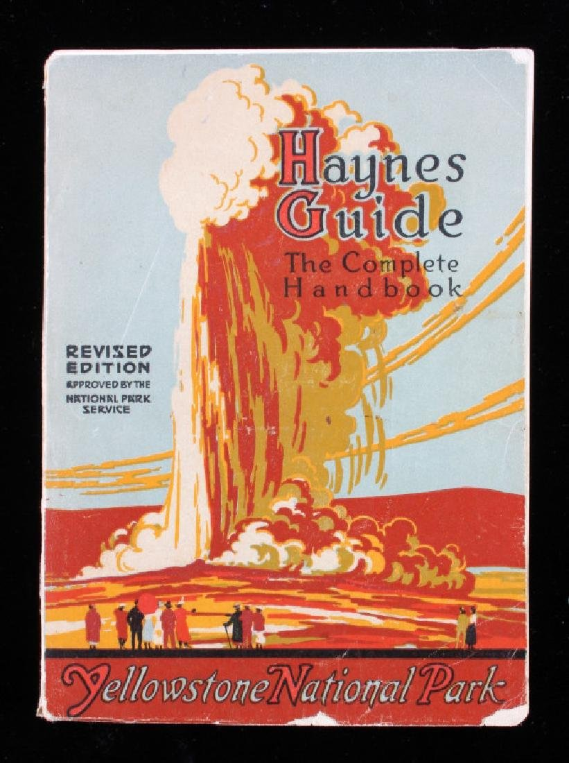 Yellowstone National Park Guidebook Collection - 2