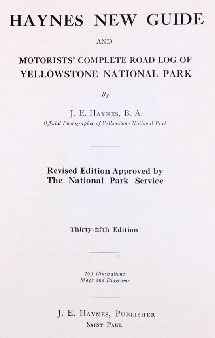 Yellowstone National Park Guidebook Collection - 3