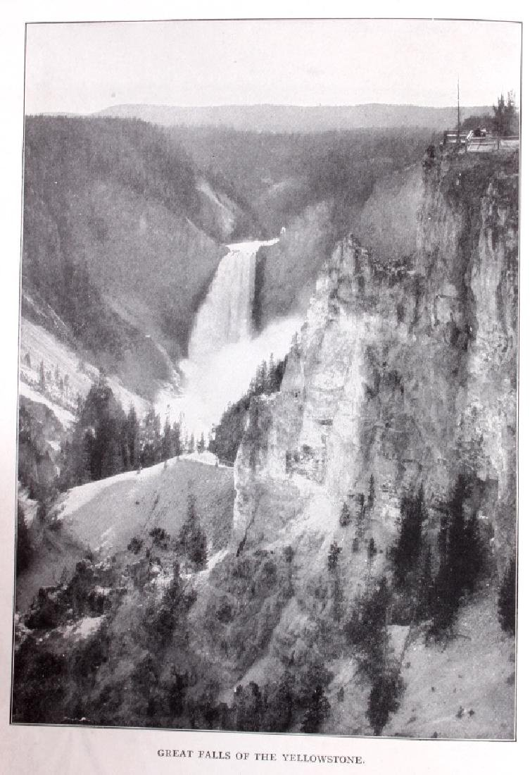 1914 Campbell's Yellowstone National Park Guide - 4
