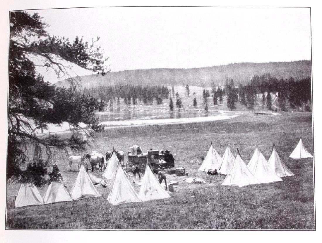 1914 Campbell's Yellowstone National Park Guide - 6
