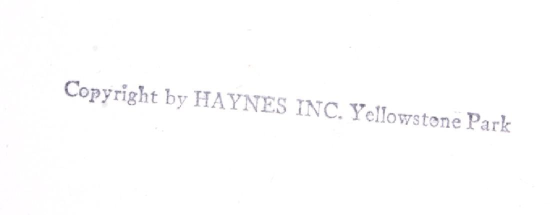 Original Haynes Yellowstone National Park Photo - 11