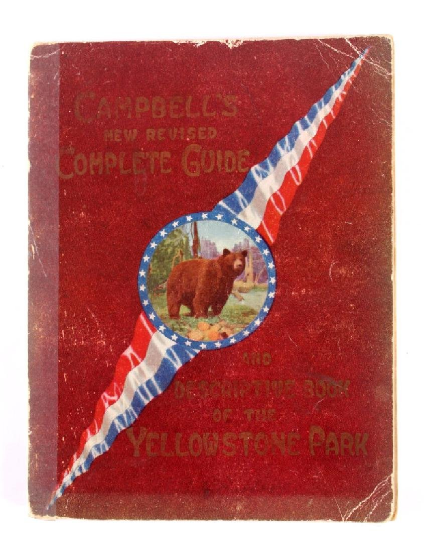 1909 Yellowstone National Park Guide w/ Map 1st Ed